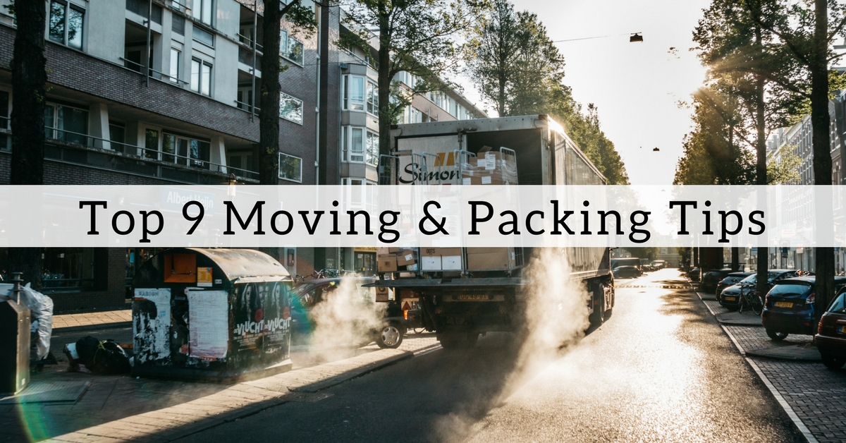 top 9 moving and packing tips